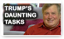 Trump's Daunting Tasks - Dick Morris TV: Lunch Alert!