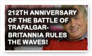 212th Anniversary Of The Battle Of Trafalgar- Britannia Rules The Waves - History Video!