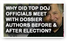 Why Did Top DOJ Officials Meet With Dossier Authors Before & After Election? Lunch Alert!